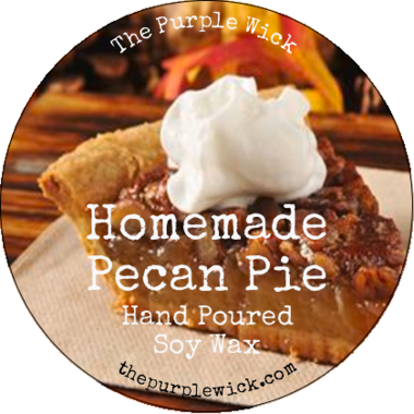 Homemade Pecan Pie-The Purple Wick-The Purple Wick