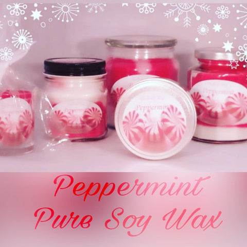 Peppermint-The Purple Wick-The Purple Wick