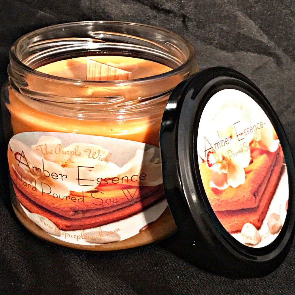 Salsa Wood Wick Hand Poured Soy Candle