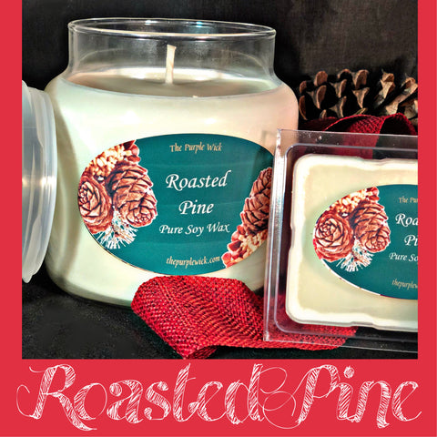Roasted Pine-The Purple Wick-The Purple Wick