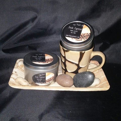 Fresh Espresso Gift Set-Gift Set-The Purple Wick-The Purple Wick