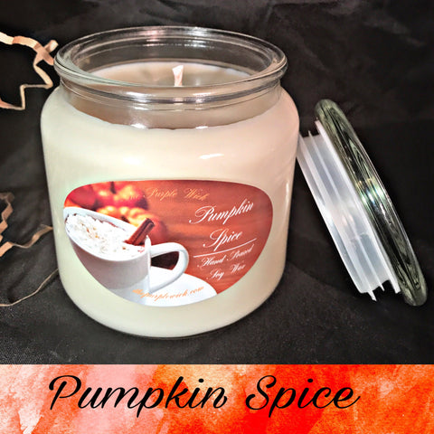 Pumpkin Spice-The Purple Wick-The Purple Wick