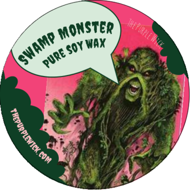 Swamp Monster-The Purple Wick-The Purple Wick