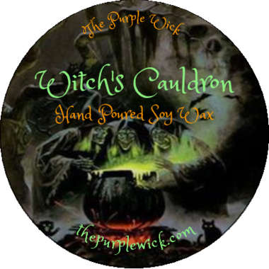 Witch's Cauldron-The Purple Wick-The Purple Wick