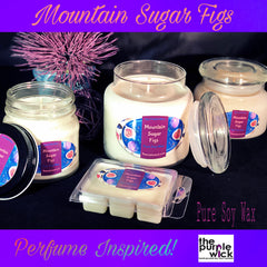 Mountain Sugar Figs-The Purple Wick-The Purple Wick