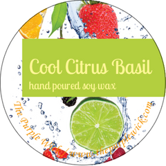 Cool Citrus Basil-The Purple Wick-The Purple Wick