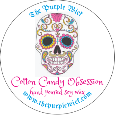 Cotton Candy Obsession-The Purple Wick-The Purple Wick