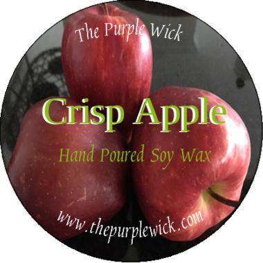 Crisp Apple-The Purple Wick-The Purple Wick