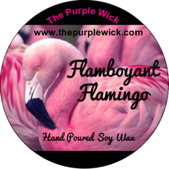 Flamboyant Flamingo-The Purple Wick-The Purple Wick