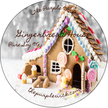 Gingerbread House-The Purple Wick-The Purple Wick