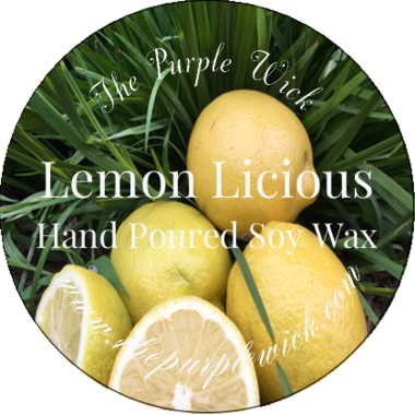 Lemon Licious-The Purple Wick-The Purple Wick