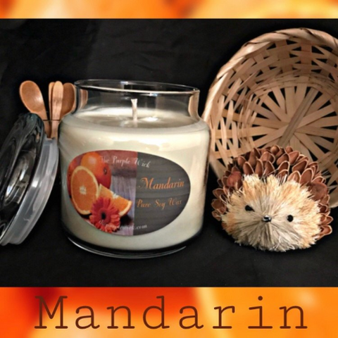 Mandarin-The Purple Wick-The Purple Wick