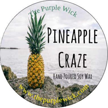 Pineapple Craze-The Purple Wick-The Purple Wick