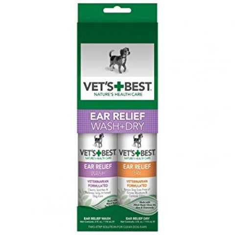 Vets Best Ear Relief Pack
