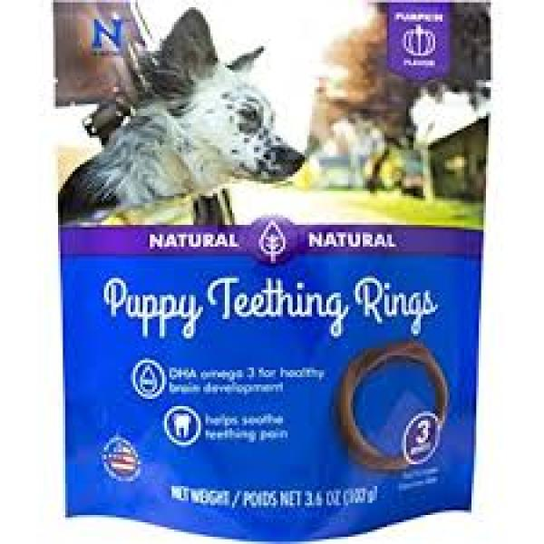 N Bone Puppy Teething Ring 3 Pack