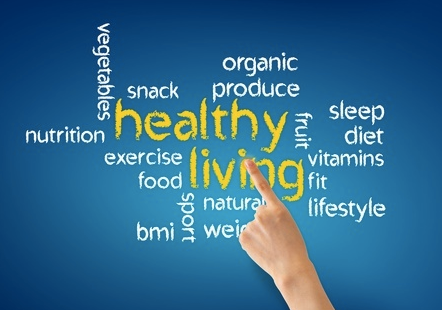 Health buzzword word cloud