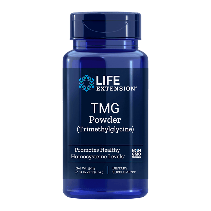 Life Extension TMG Powder - 50 g - Health As It Ought to Be