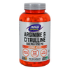 Now Foods Arginine & Citrulline (500/250) - 240 Veg Capsules - Health As It Ought to Be