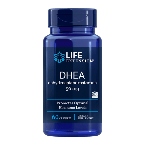 Life Extension DHEA 50 mg - 60 Capsules - Health As It Ought to Be