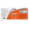 Now Foods L-Proline 500 mg - 120 Veg Capsules - Health As It Ought to Be