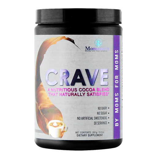 Momsanity CRAVE A Nutritious Cocoa Blend that Naturally Satisfies - 30 servings - Health As It Ought to Be