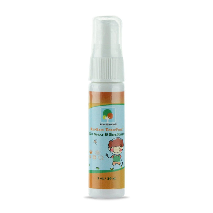 Raise Them Well Kid-Safe ToxicFree® 3 pack Bug Spray and Bite Relief - Health As It Ought to Be
