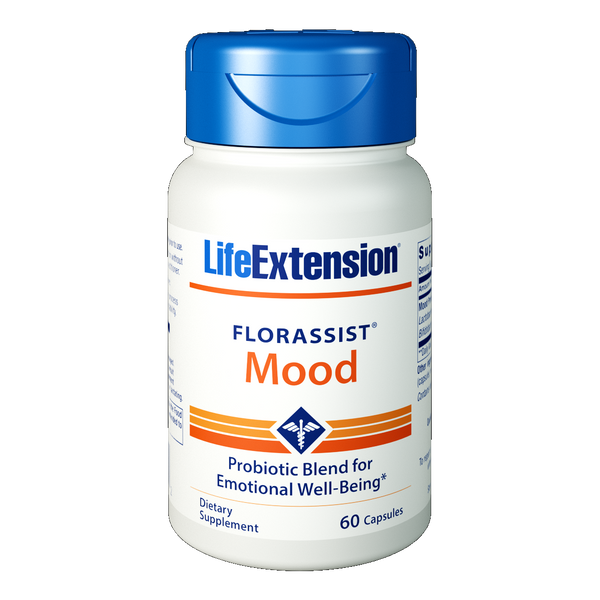 Life Extension FLORASSIST® Mood - 60 Capsules - Health As It Ought to Be