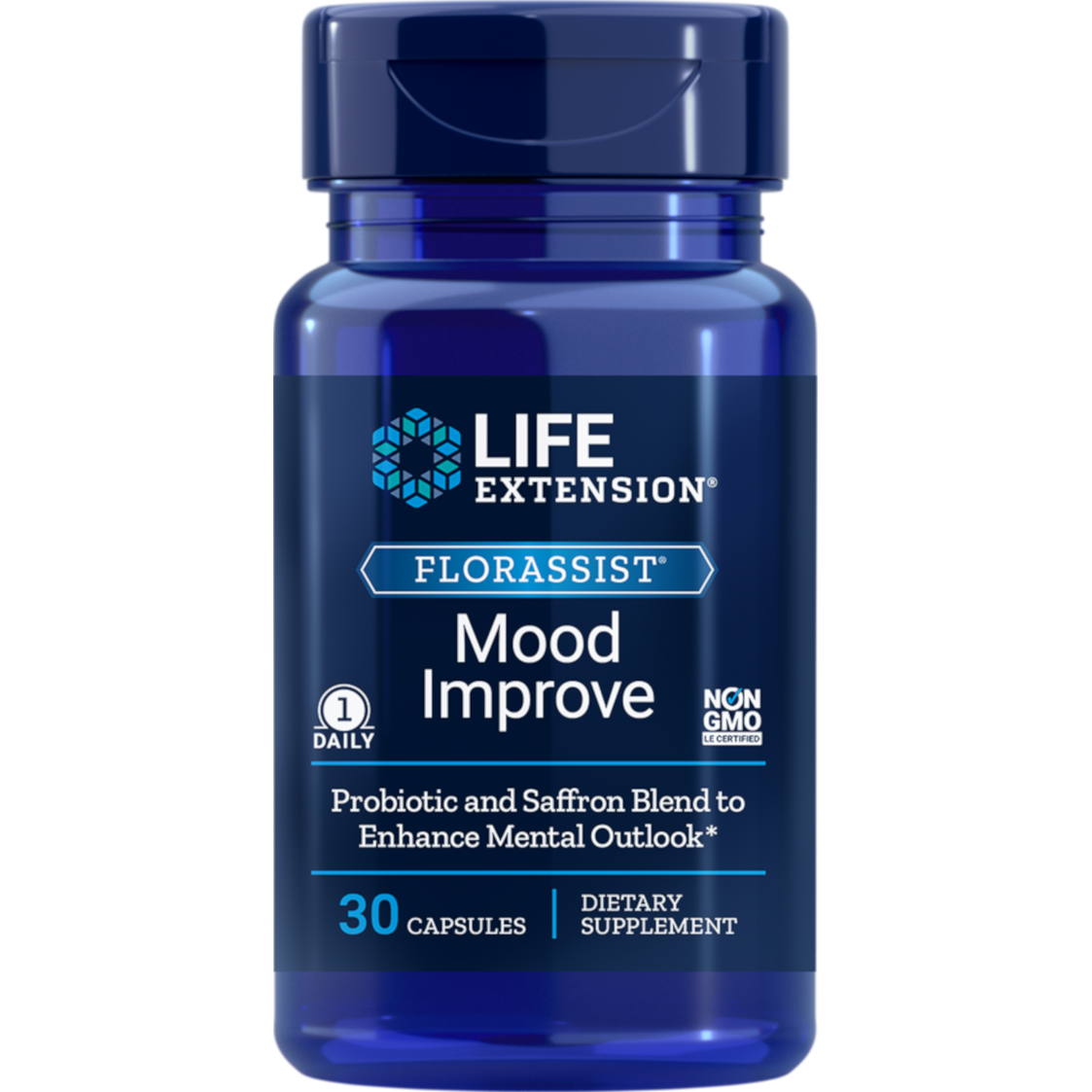 Life Extension FLORASSIST® Mood Improve - 30 Capsules - Health As It Ought to Be