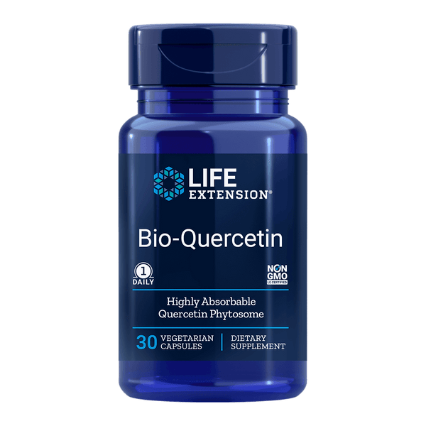 Life Extension Bio-Quercetin - 30 Vegetable Capsules - Health As It Ought to Be