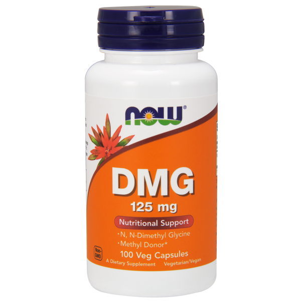 Now Foods DMG 125 mg - 100 Capsules