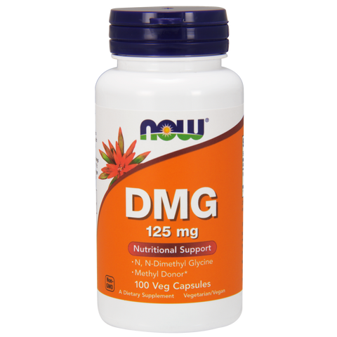 Now Foods DMG 125 mg - 100 Capsules - Health As It Ought to Be