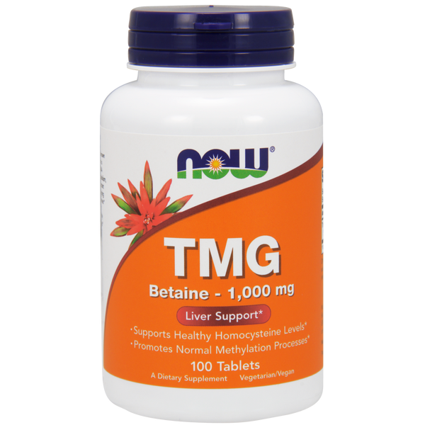 Now Foods TMG 1000 mg - 100 Tablets - Health As It Ought to Be