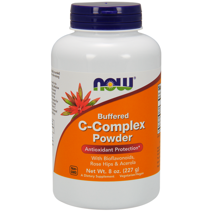 Now Foods Vitamin C-Complex, Buffered Powder - 8 oz. - Health As It Ought to Be