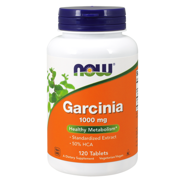 Now Foods Garcinia 1000 mg - 120 Tablets - Health As It Ought to Be