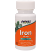 Now Foods Iron 18 mg - 120 Veg Capsules - Health As It Ought to Be