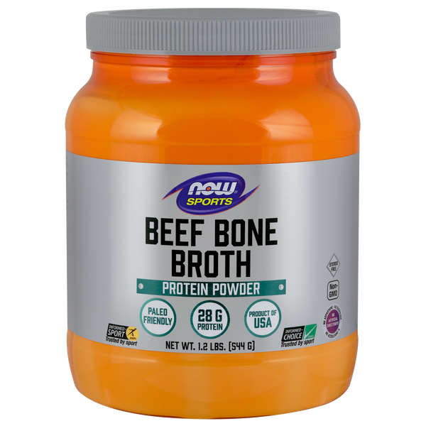 Now Foods Beef Bone Broth Powder - 1.2 lbs