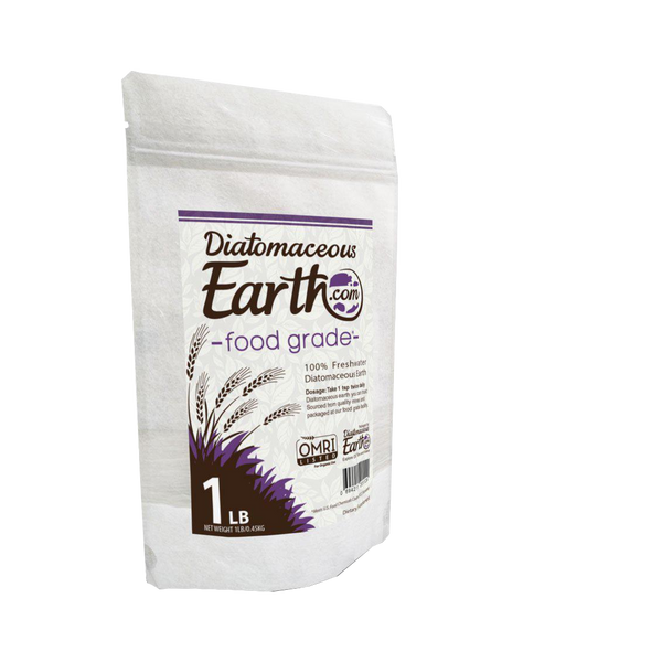 Diatomaceous Earth Food Grade 100% Freshwater Diatomaceous Earth - 1 lb - Health As It Ought to Be