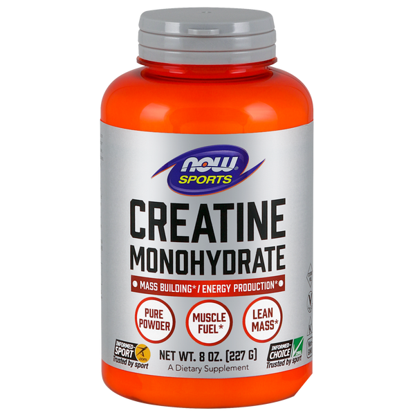 Now Foods Creatine Monohydrate - 8 oz. bottle