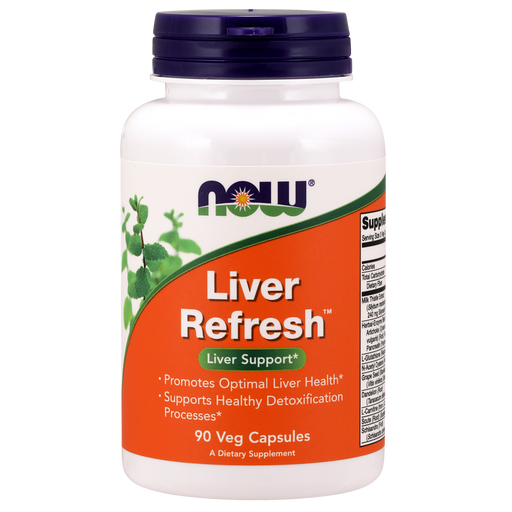 Now Foods Liver Refresh (p.k.a. Foods Liver Detoxifier and Regenerator) - 90 Veg Capsules - Health As It Ought to Be