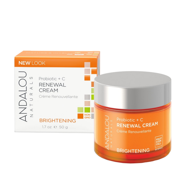 Andalou Naturals Probiotic + C Renewal Cream - 1.7 oz. - Health As It Ought to Be
