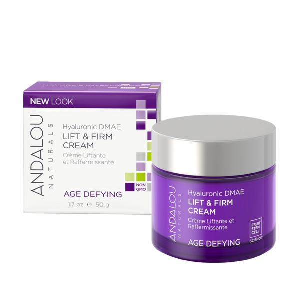 Andalou Naturals Hyaluronic DMAE Lift & Firm Cream - 1.7 oz. - Health As It Ought to Be