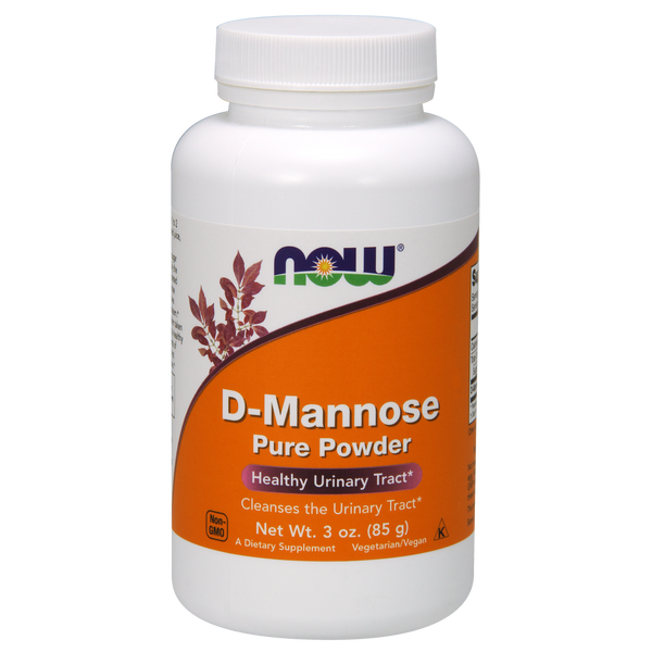 Now Foods D-Mannose Powder 2 gr - 3 oz. - Health As It Ought to Be