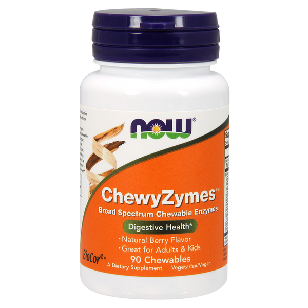 Now Foods ChewyZymes™ - 90 Chewables - Health As It Ought to Be