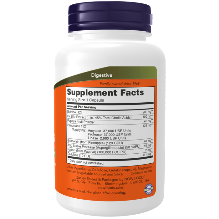 Now Foods Super Enzymes - 180 Capsules