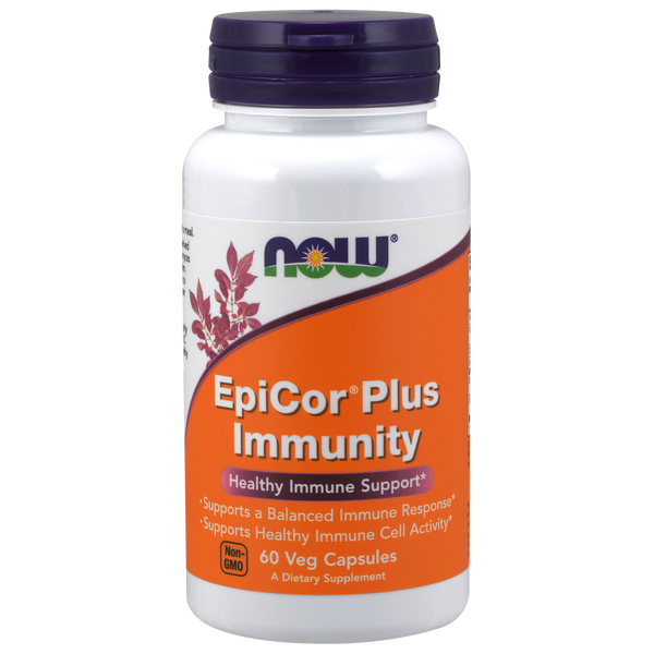 Now Foods EpiCor Plus Immunity - 60 Veg Capsules
