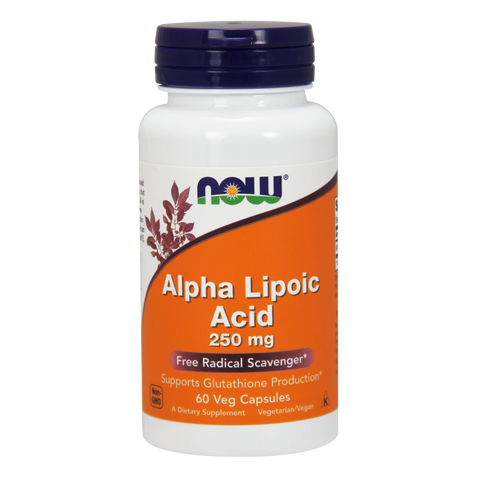 Now Foods Alpha Lipoic Acid 250 mg - 60 Veg Capsules