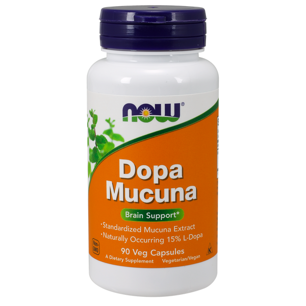 Now Foods Dopa Mucuna - 90 Veg Capsules - Health As It Ought to Be