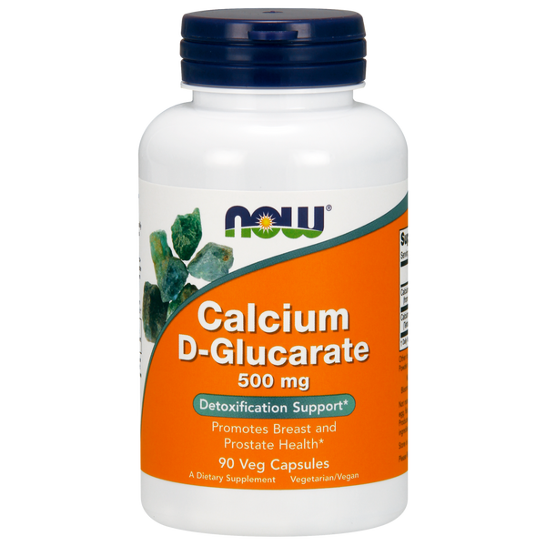 Now Foods Calcium D-Glucarate 500 mg - 90 Veg Capsules
