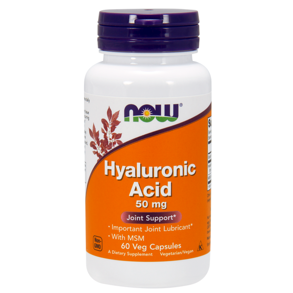 Now Foods Hyaluronic Acid - 60 Veg Capsules - Health As It Ought to Be