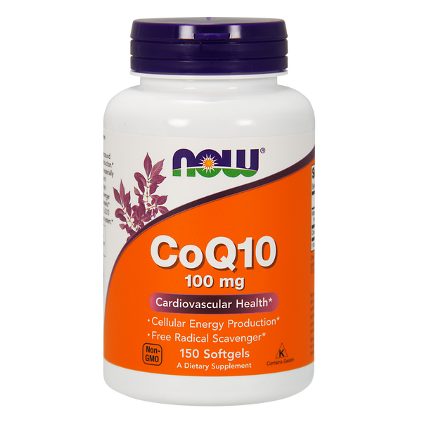 Now Foods CoQ10 100 mg - 150 Softgels